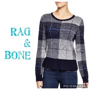 "RAG & BONE >> "" Tegan"" Wool Pullover Sweater"